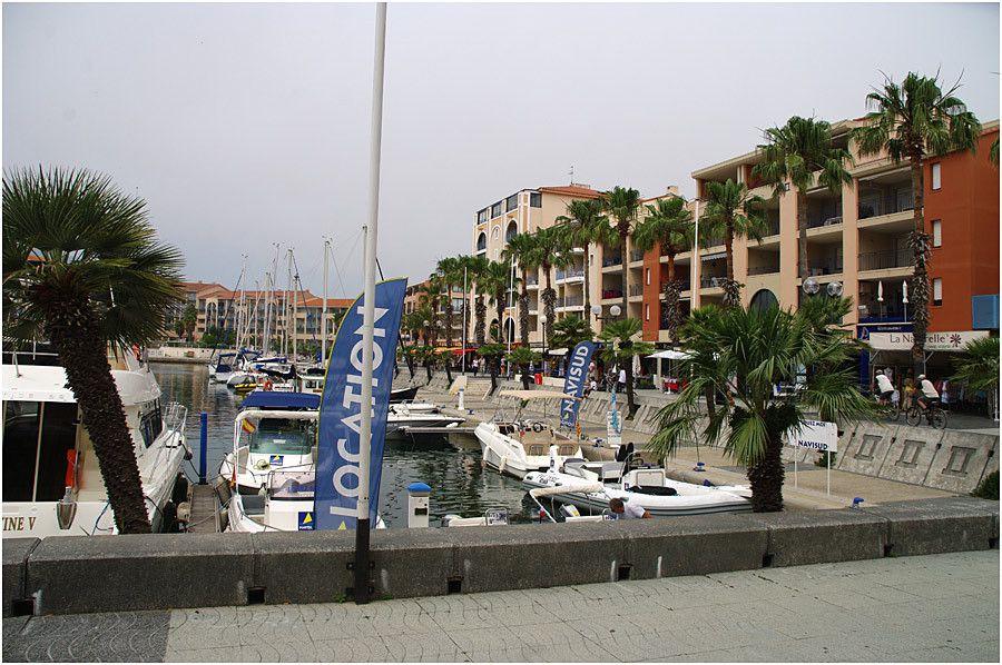 Argelès - le port de plaisance