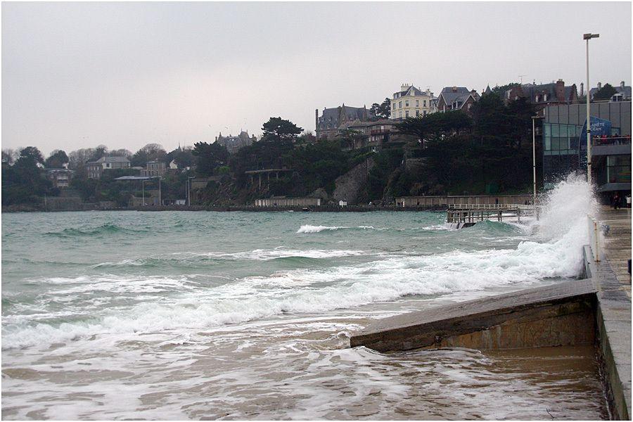 marée du siècle -- Dinard 21 mars 2015
