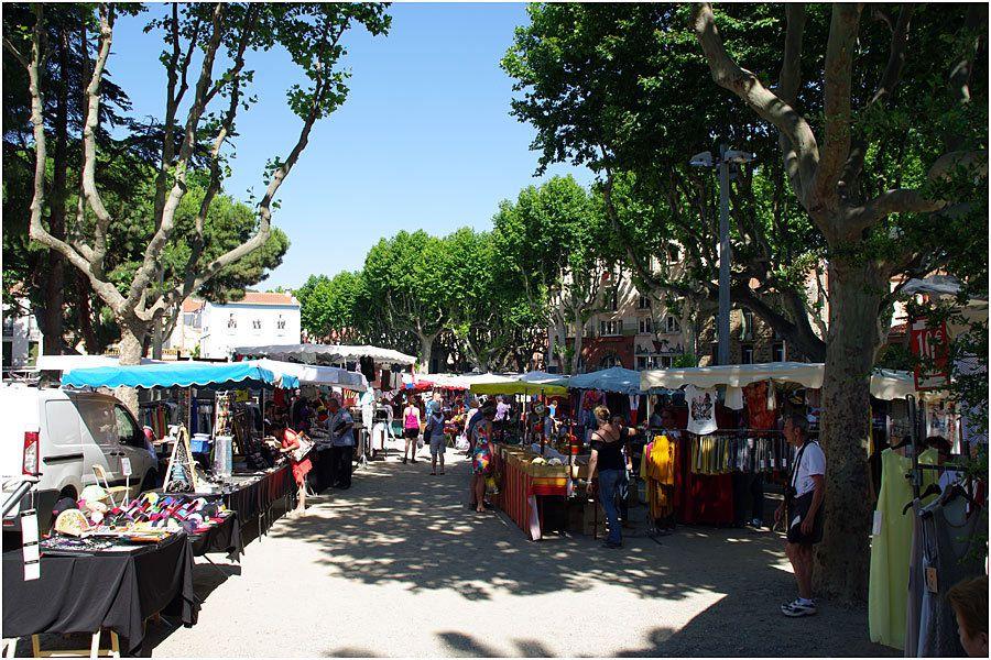 Collioure - le marché du mercredi