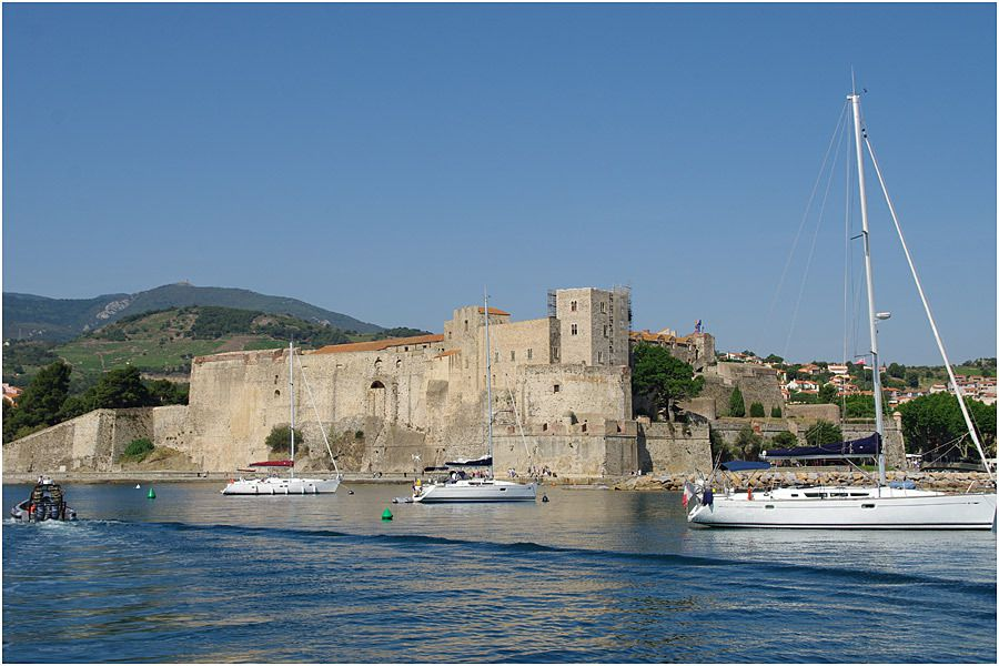 Collioure - le fort Royal