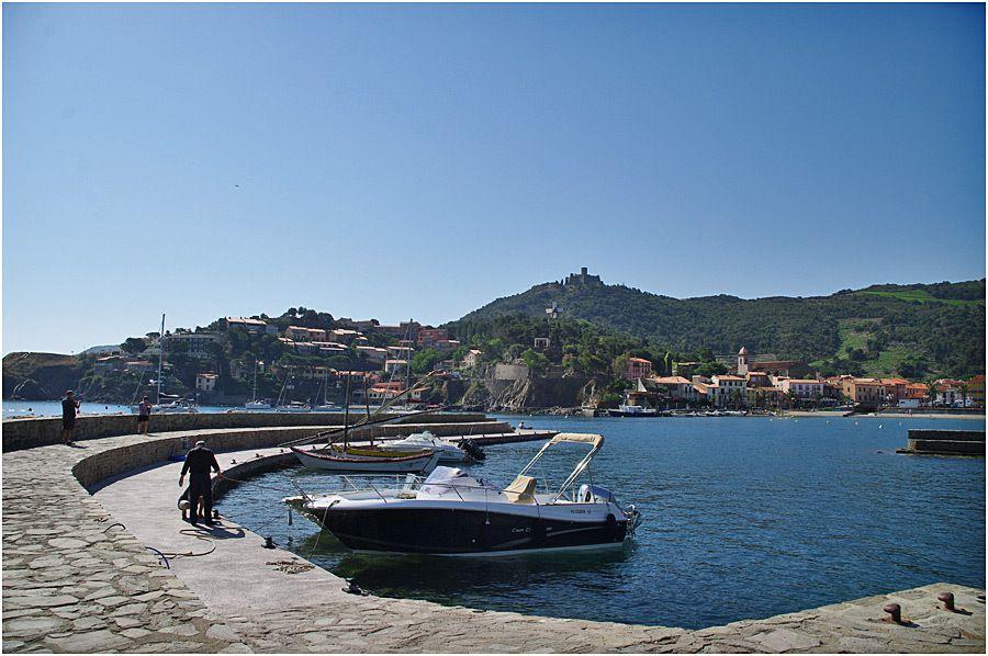 les quais du port de Collioure