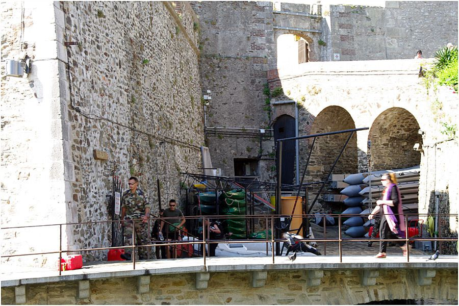 port de Collioure - zone militaire