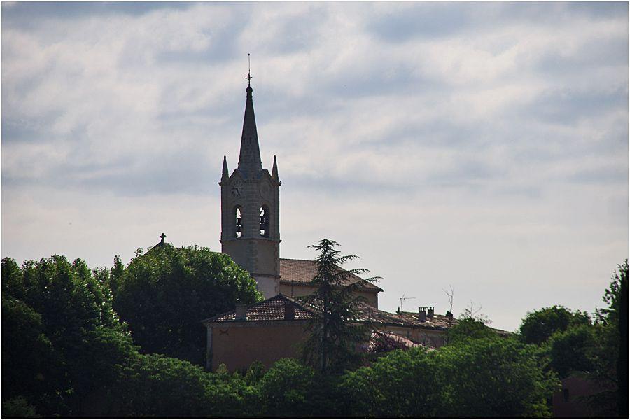 Luberon - village de Villars