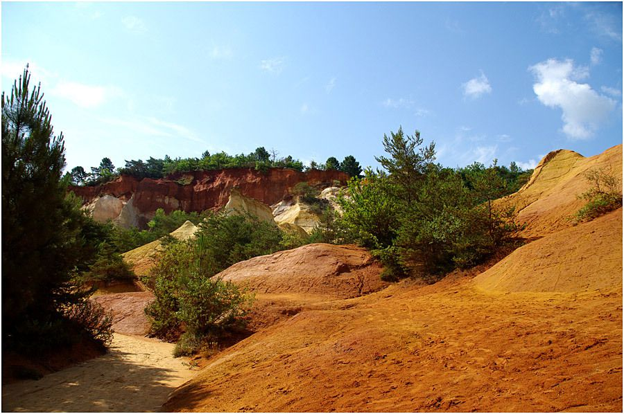 Le Luberon - photos de juin 2014 - Le Colorado Provençal