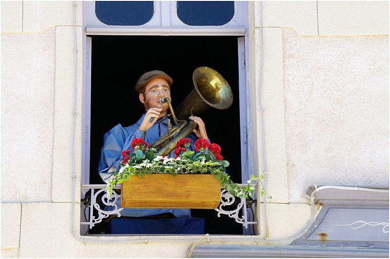 le puy du fou 2013 - le Bourg 1900 - les automates musiciens