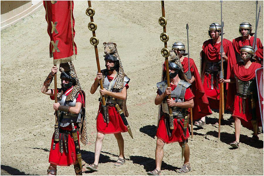 Le Puy du Fou - le stadium Gallo-Romain - les jeux du cirque