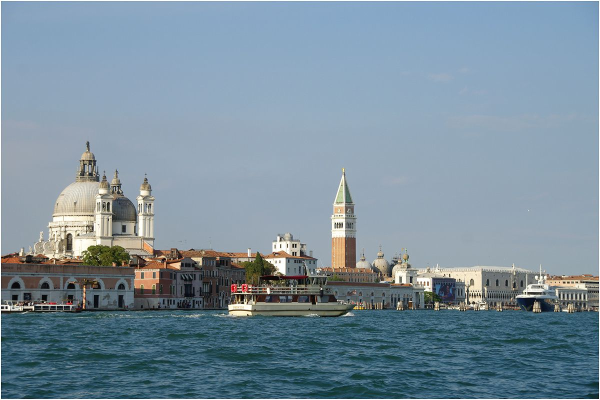 Venise - septembre 2013 - grand tour en vaporetto