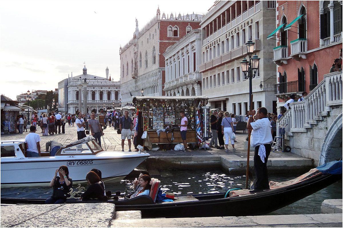 Venise - septembre 2013 - Riva Degli Schiavoni