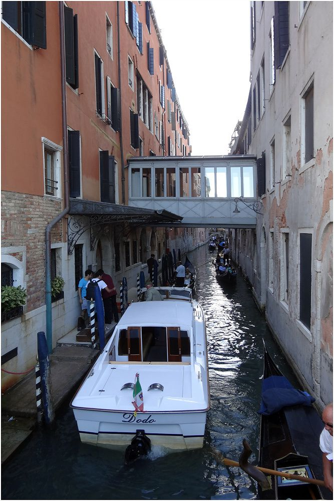 Venise - septembre 2013 - Riva Degli Schiavoni - rio del Vin