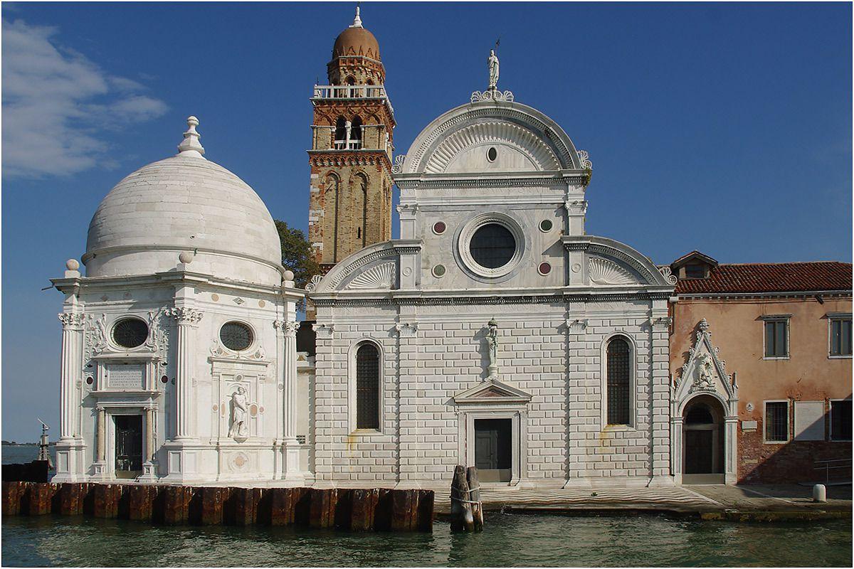 Venise - septembre 2013 - grand tour en vaporetto - cimetière de Venise
