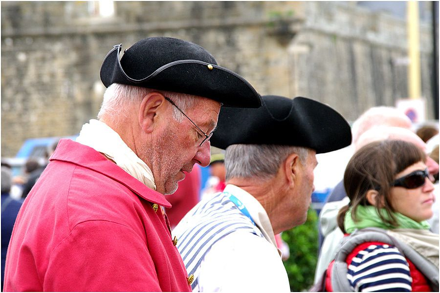 L'Hermione au port de Saint Malo