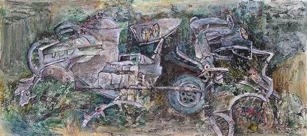 Françoise Guillemare, peintures 2008 (II)