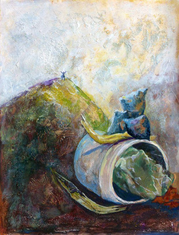 Peinture de Geneviève Boissière