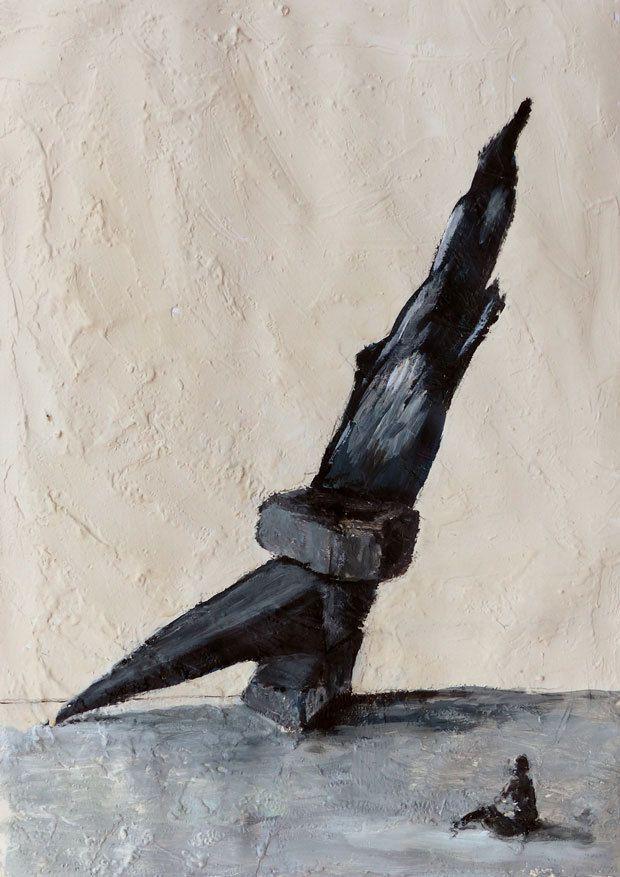 Peinture de Claire Mossaz
