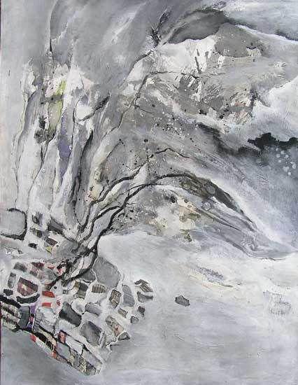 Peinture de Catherine Morthelier