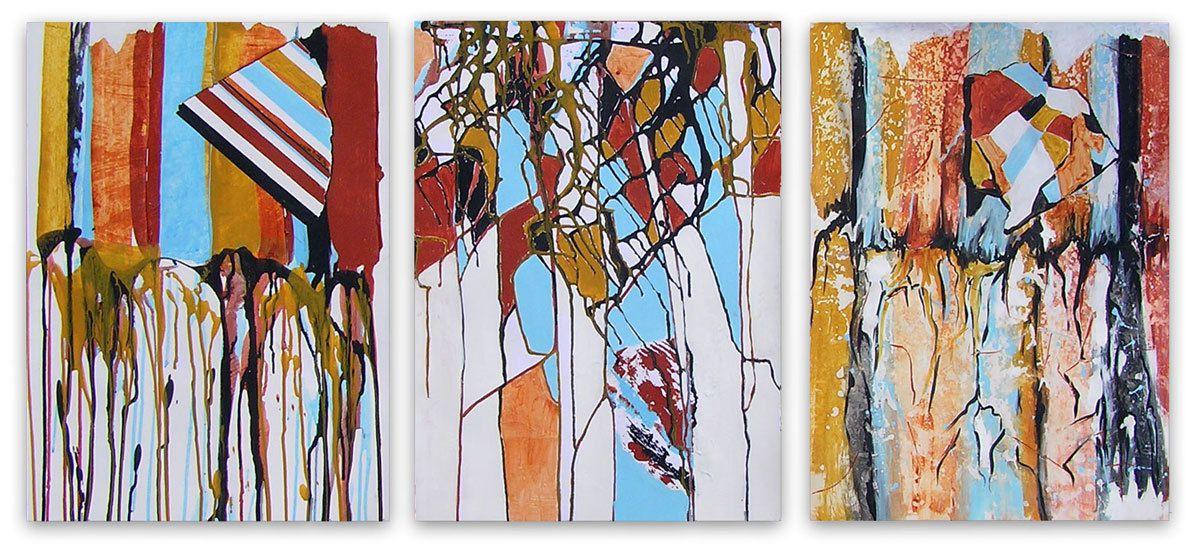 Peintures de Jeanine Mandille (cliquez pour agrandir)
