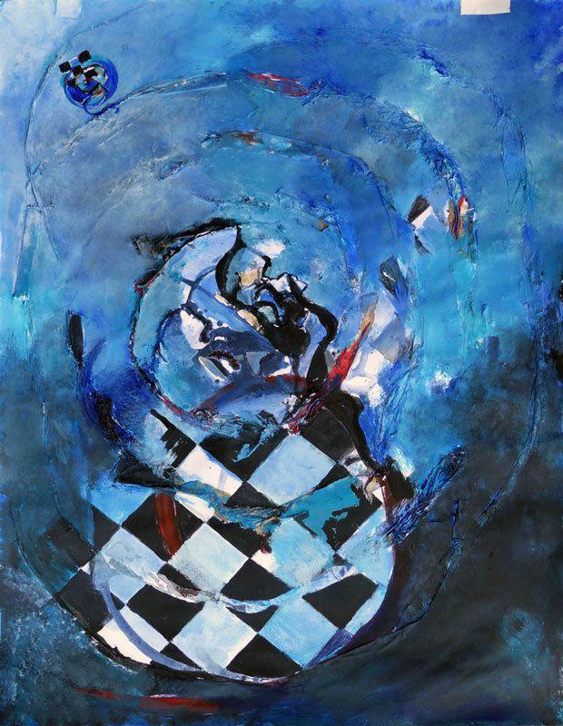 Peinture en six jours, par Simone Guignard.