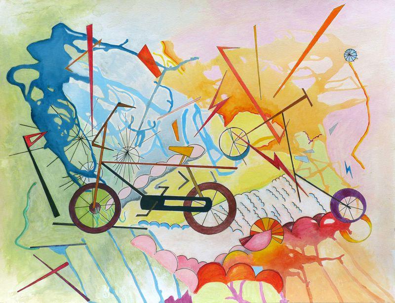 Peinture d'Elise Durand-Bazin