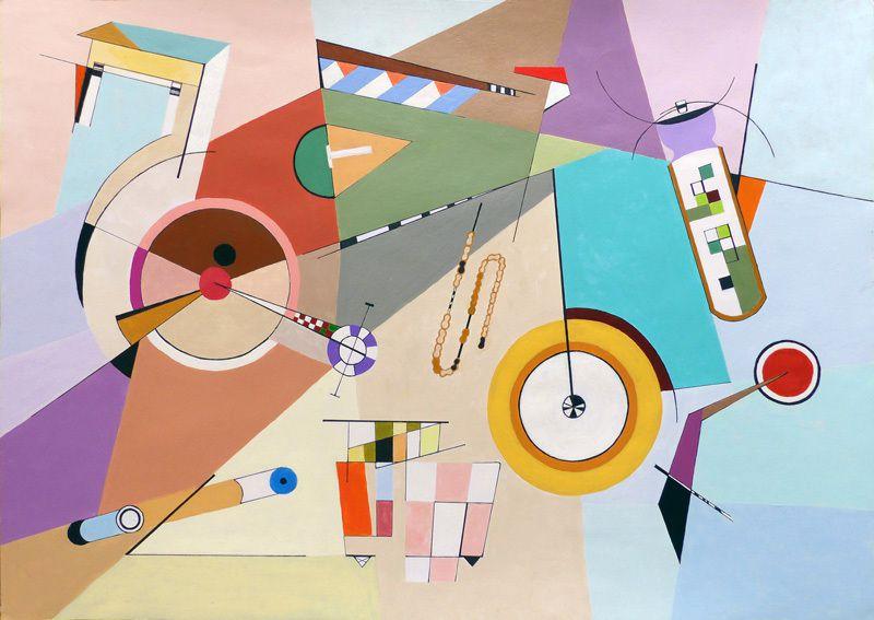 Peinture au vélo d'Isabelle Bisson