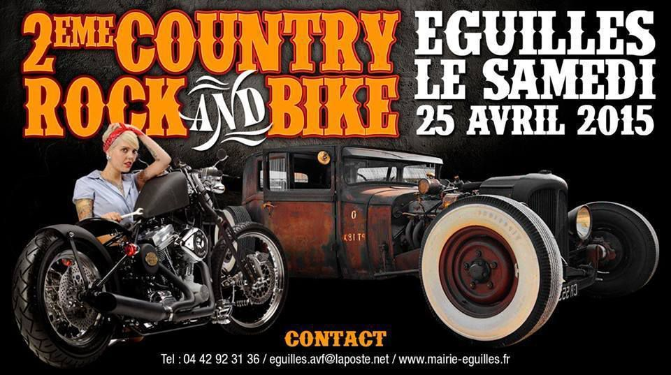 943 2 éme COUNTRY ROCK and BIKE EGUILLES 13 le 25 Avril 2015