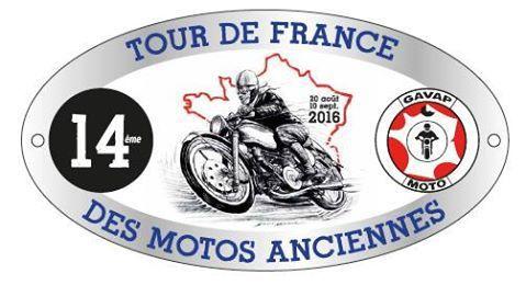 971 14éme Tour de FRANCE motos anciennes , Etape a AUROUX .