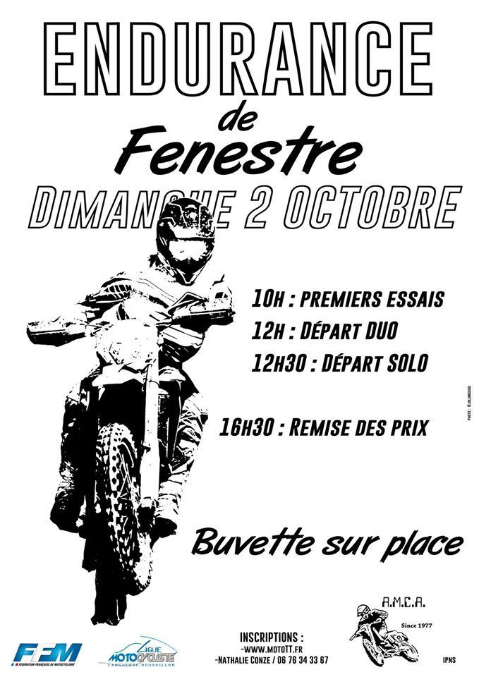 973 Endurance de FENESTRES by l'AMCA , Le 2 Octobre 2016