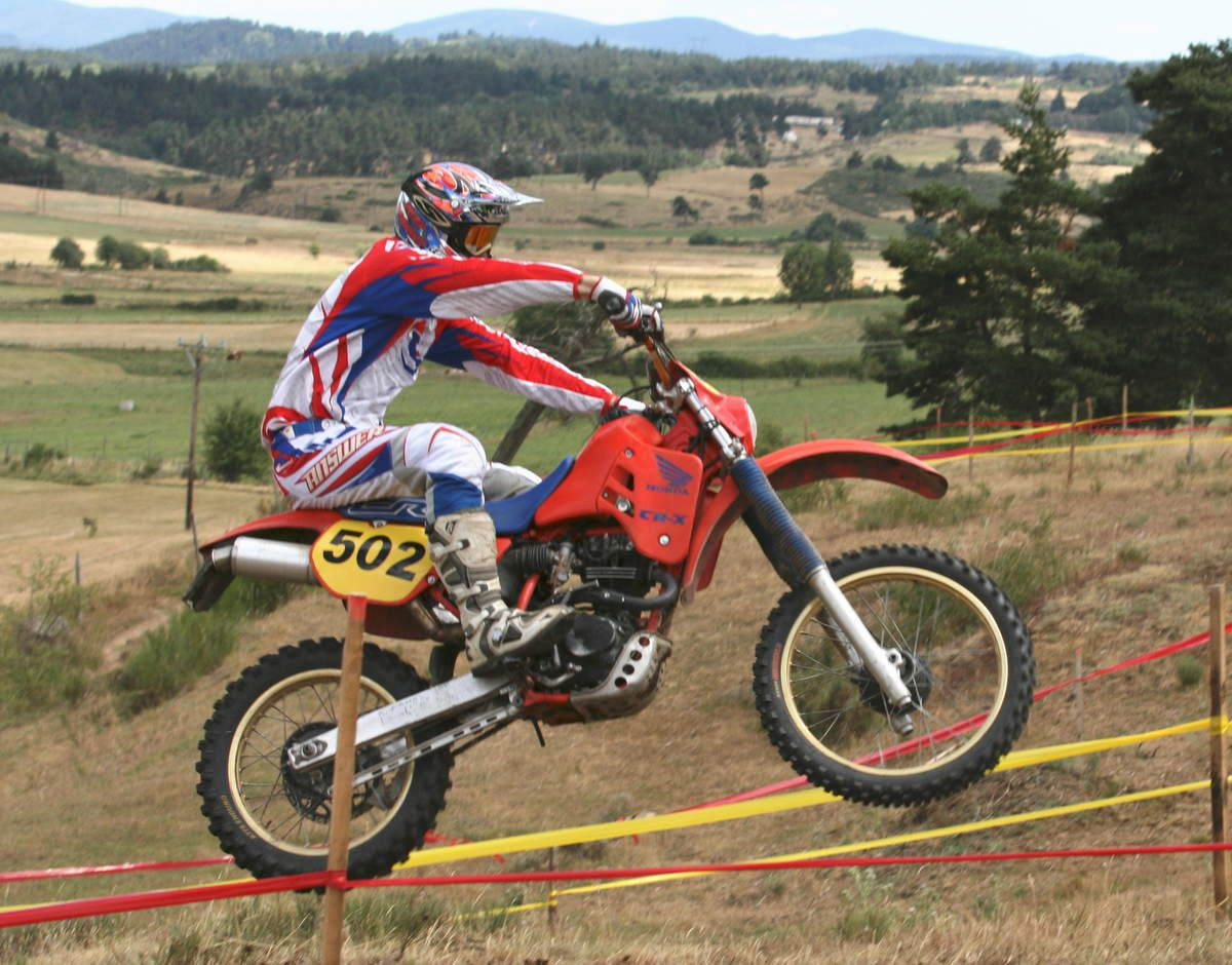 Alex BERNARD 1er AUROUX ENDURO RETRO The Winner