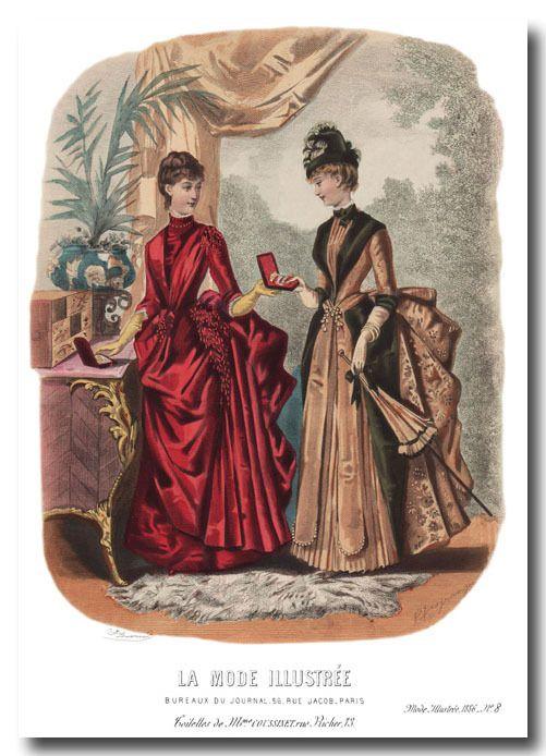 Mes bijoux en or : la mode illustrée 1886