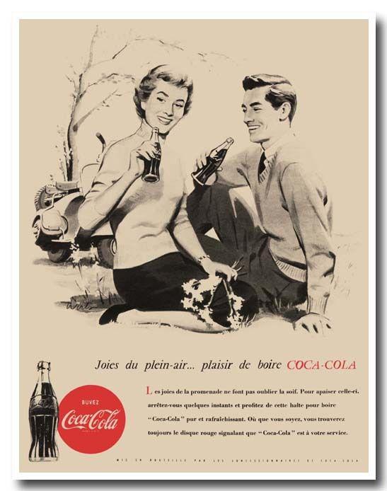 1950 : publicité .