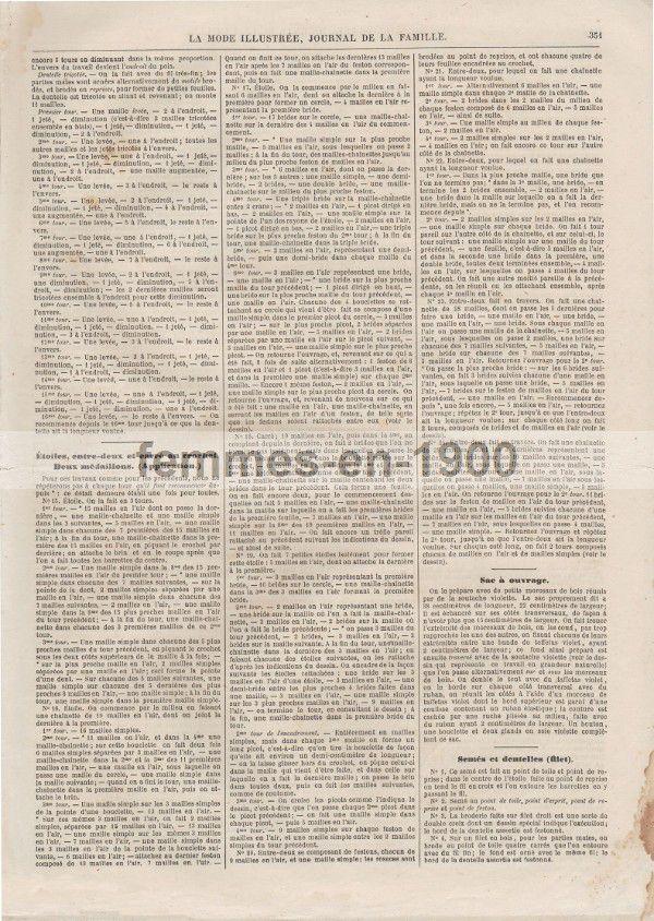 La Mode Illustrée : 1 novembre1868