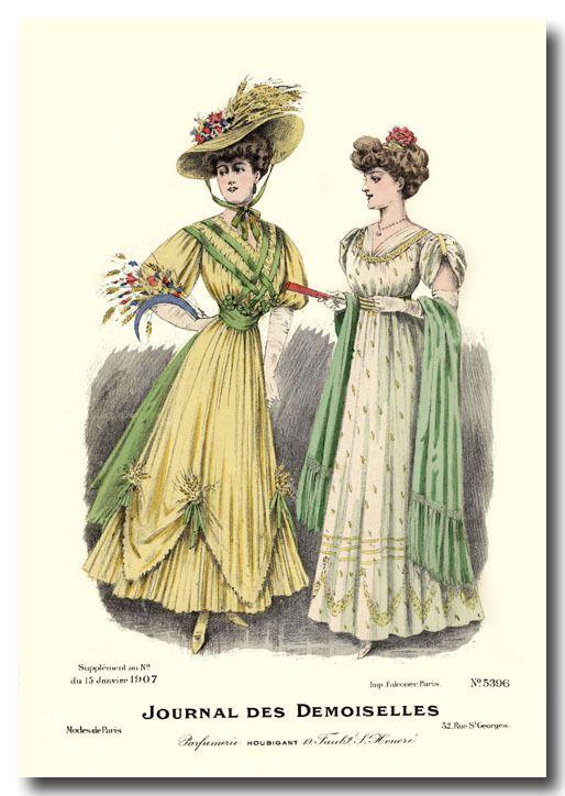 1907 : Journal des Demoiselles