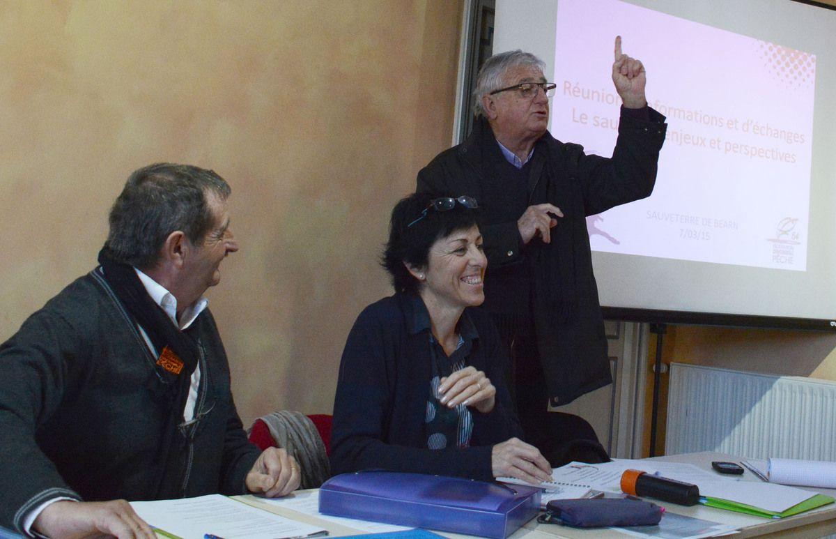 PYRENEES-ATLANTIQUES : LES PECHEURS DE SAUMON MONTENT AU FILET