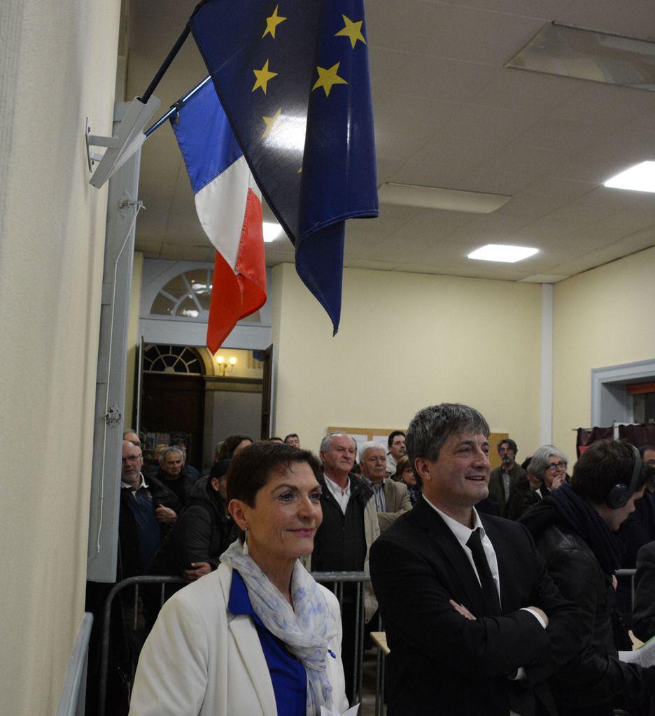 Denise Saint-Pé et Jacques Pédehontaà, qualifiés pour le second tour