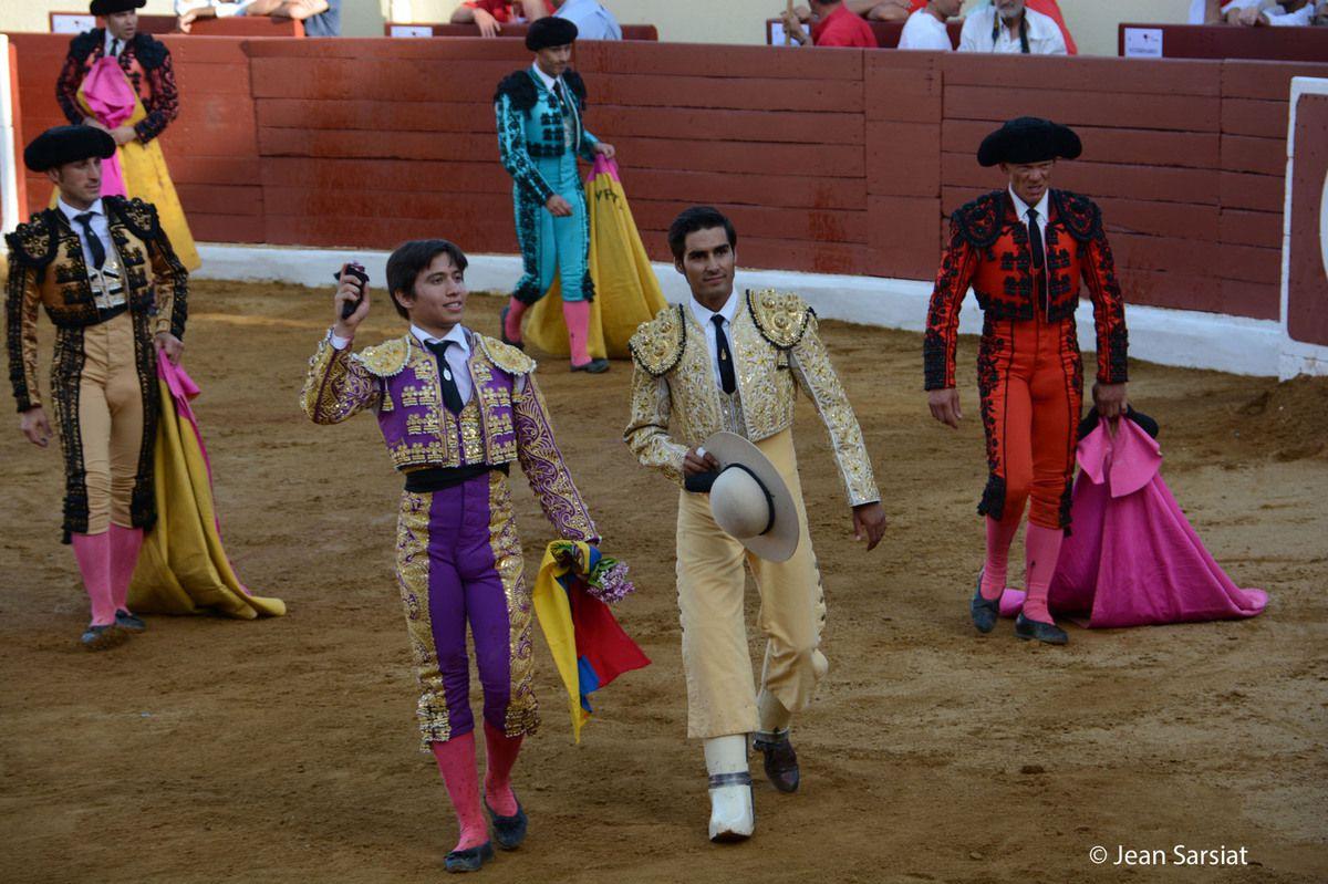 CORRIDA : CESAR VALENCIA CHAMPION DE LA FERIA  D 'ORTHEZ