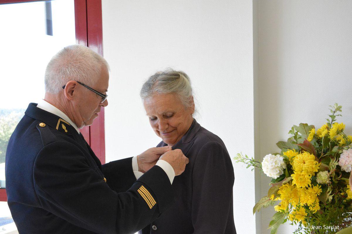 BONNUT : ANNIE LACAZEDIEU, CHEVALIER DE LA LEGION D'HONNEUR