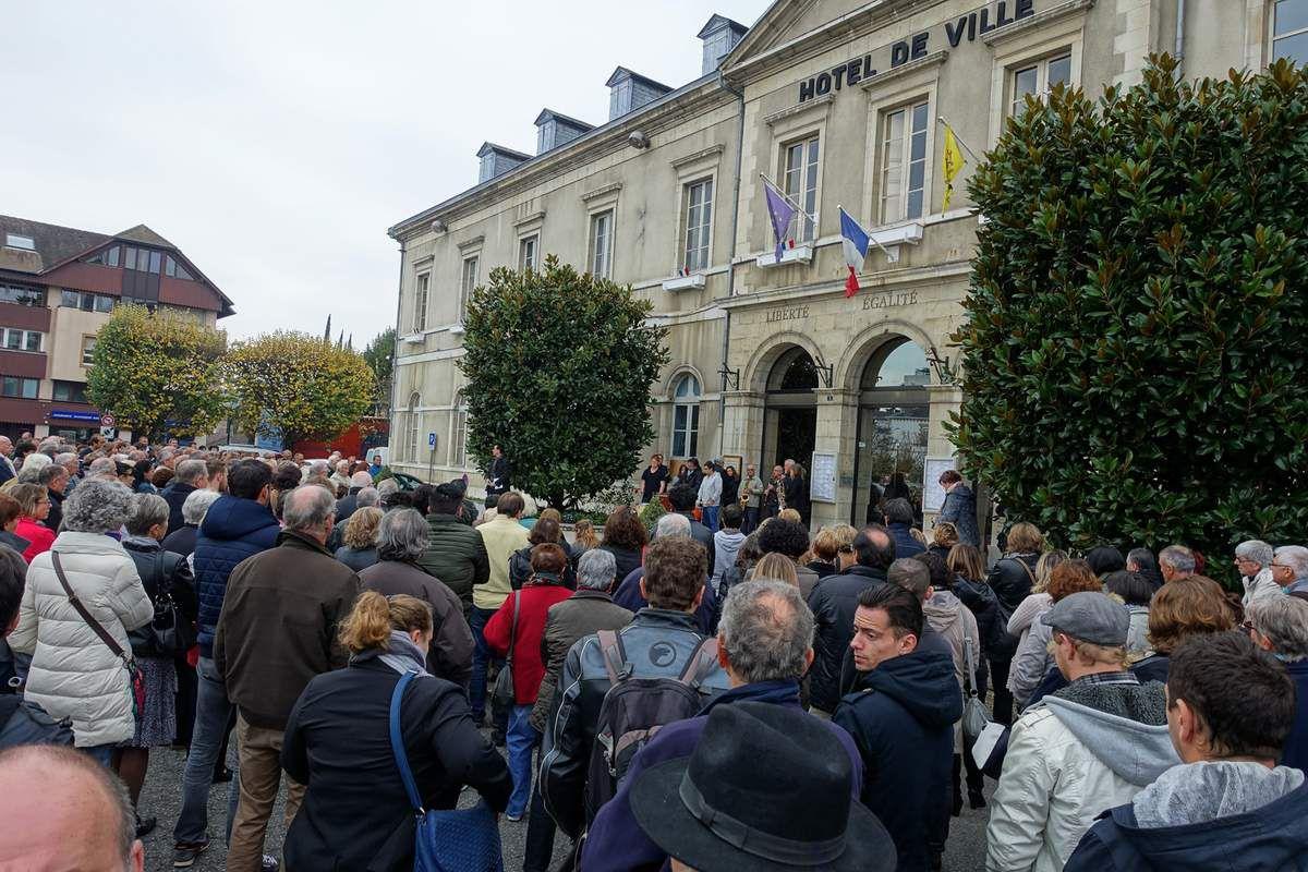 ATTENTATS DE PARIS : DIMANCHE NOUVEAU RASSEMBLEMENT A ORTHEZ