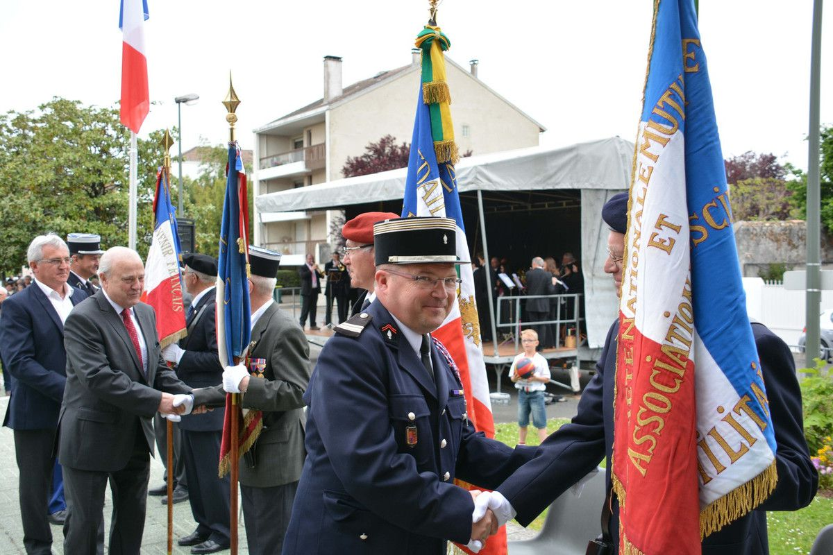 ORTHEZ : LA COMMEMORATION DU 8 MAI