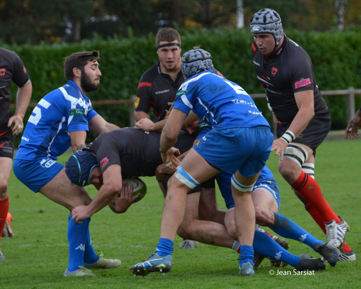 RUGBY : L'US ORTHEZ REMPORTE LE  DERBY FACE A MORLAAS (27-18)