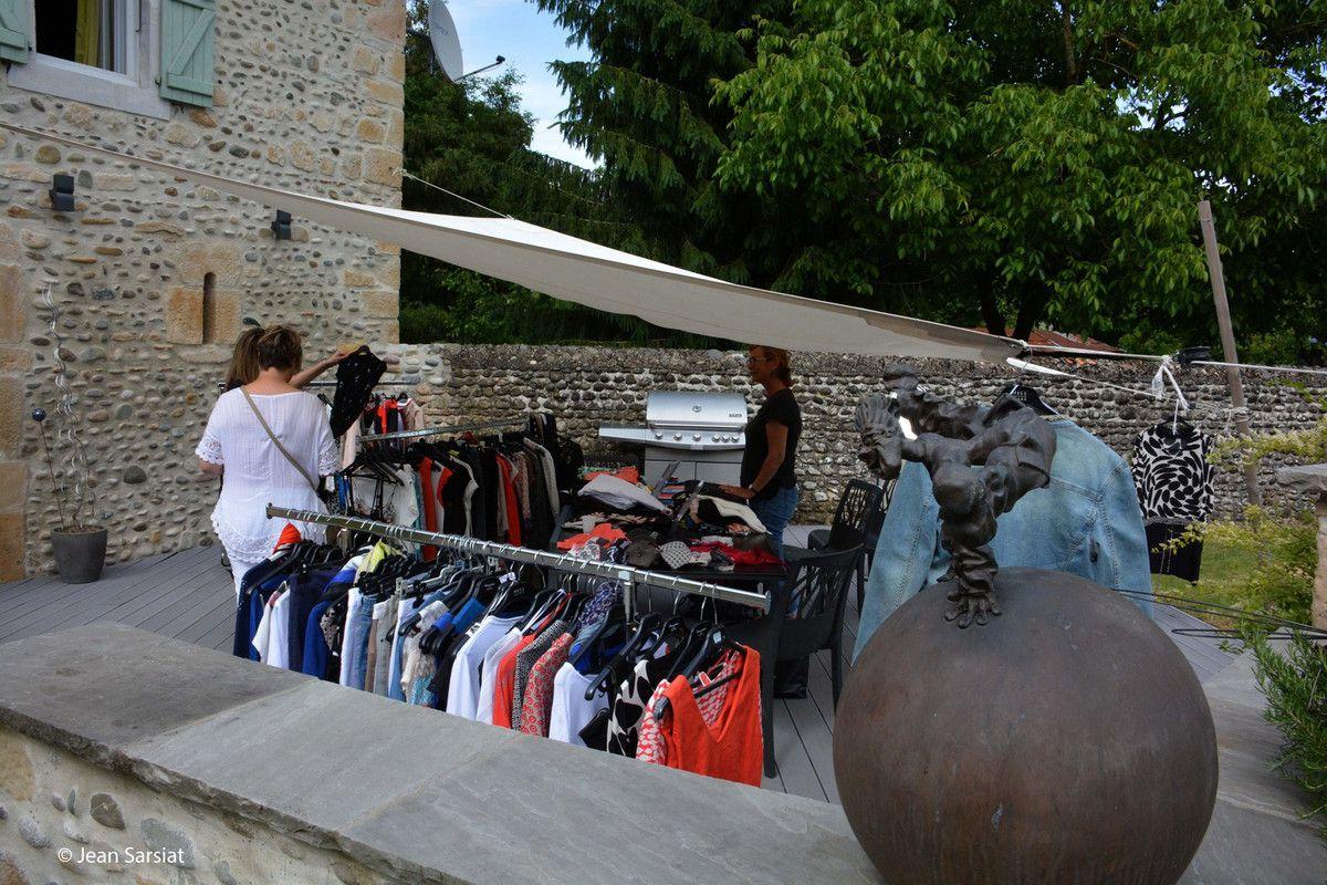 VIELLENAVE-DE-NAVARRENX :  CHEZ NATHALIE, PORTES OUVERTES SUR MILLE ET UNE COULEURS