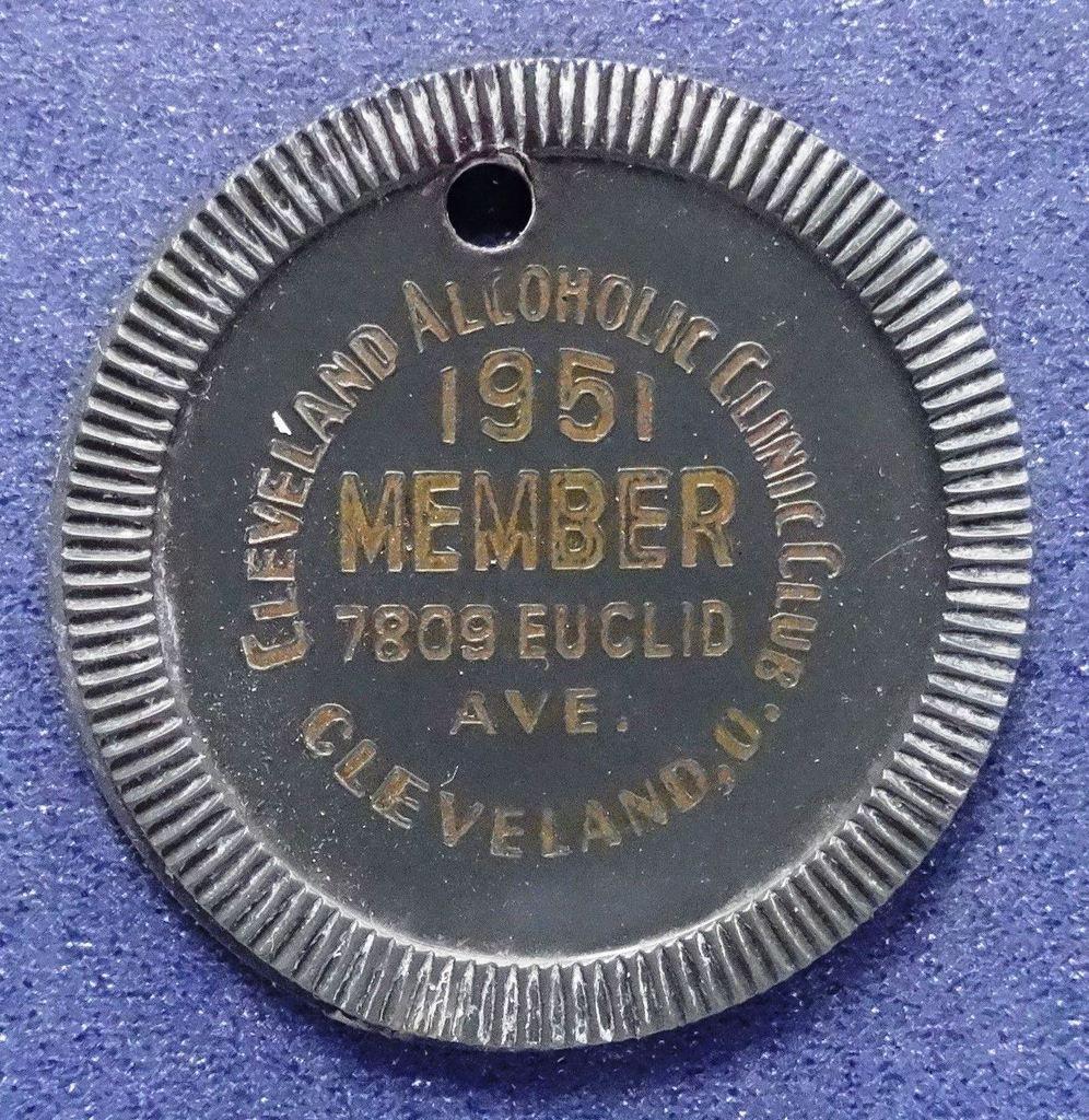 OHIO CLEVELAND ALCOHOLIC CLINIC 1951