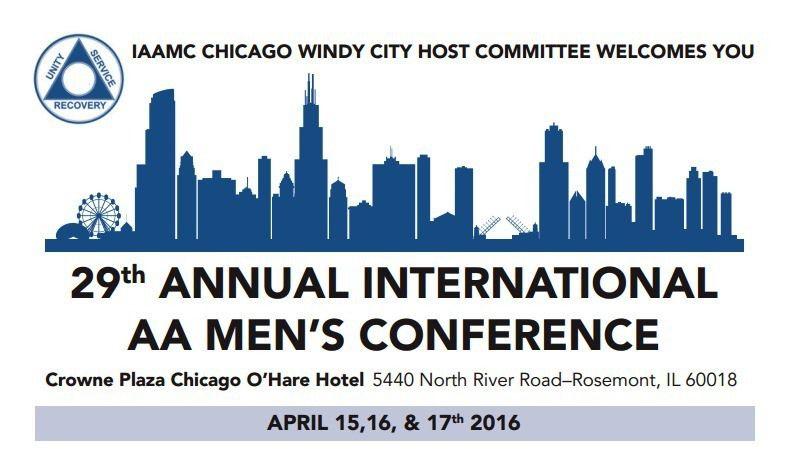 Entre membres AA masculins à Chicago