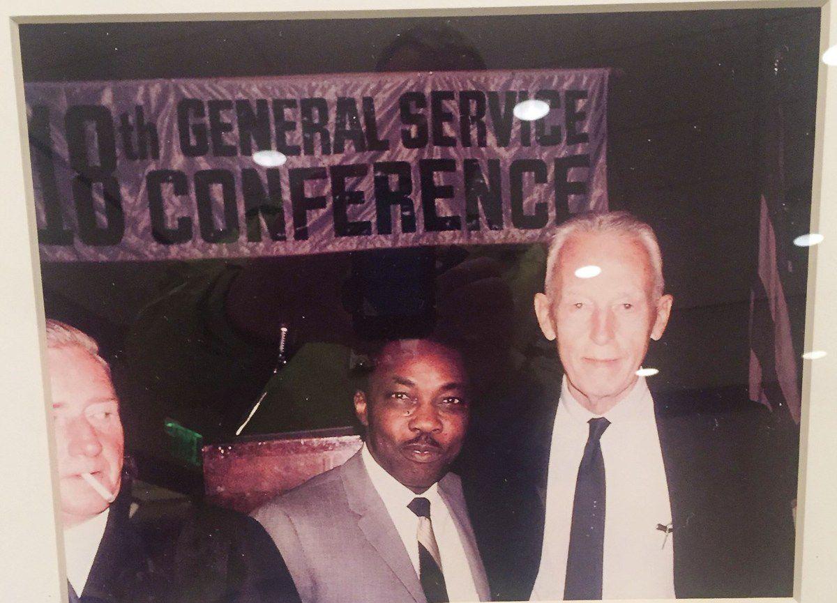 Bill W. à la conférence 1968