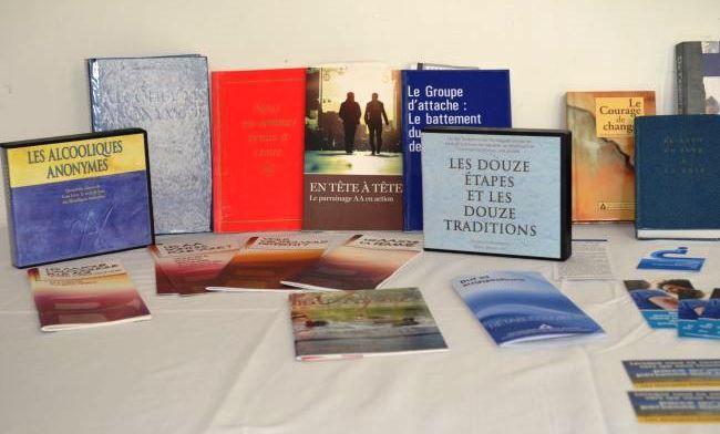 Plusieurs livres, CD et dépliants peuvent vous venir en aide si vous vivez dans un contexte d'alcoolisme.