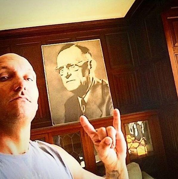Portrait du Dr Bob