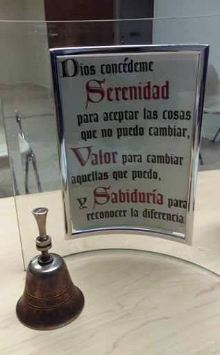 Prière de la sérénité (espagnol)