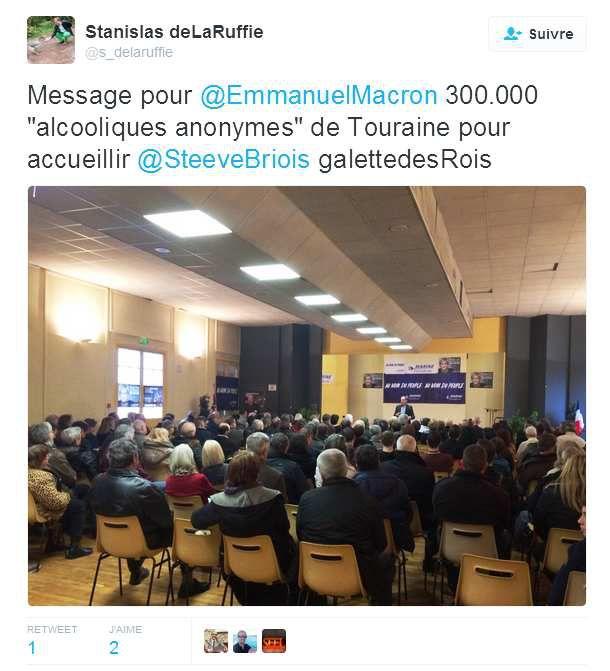 Emmanuel Macron et les Alcooliques Anonymes...