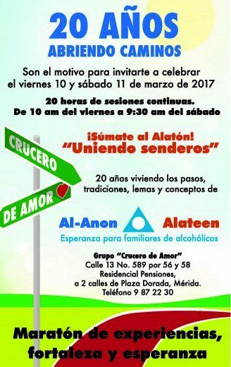 MEXIQUE : Marathon AL-ANON