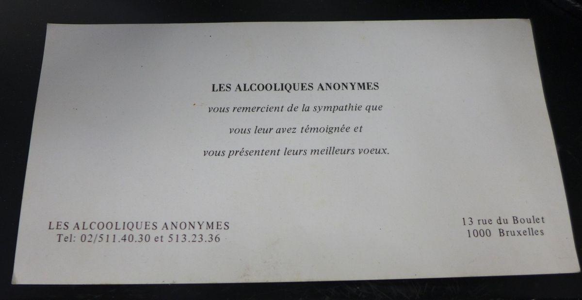 BELGIQUE : ARCHIVES AA