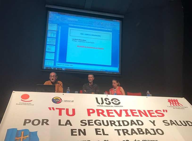 ESPAGNE, Gijón : AA au &quot&#x3B;Foro de Prevención&quot&#x3B;
