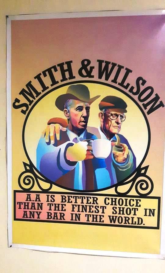 Smith & Wilson - AA est un meilleur choix que le meilleur coup dans n'importe quel bar du monde